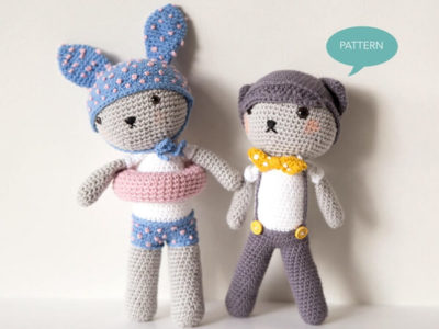 Amigurumi Bundle Bunny Cat