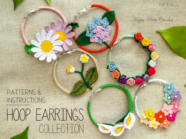 Crochet Earrings Pattern Collection Share A Pattern