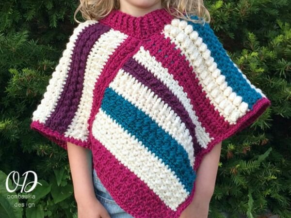 Easy Crochet Poncho Patterns Share A Pattern