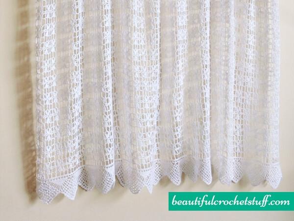 Crochet Curtain Free Pattern