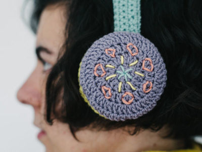 CROCHET EAR MUFFS