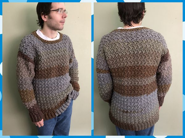 Mens Casual Sweater Share A Pattern