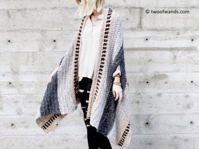 SADDLEBROOK CAPE SCARF