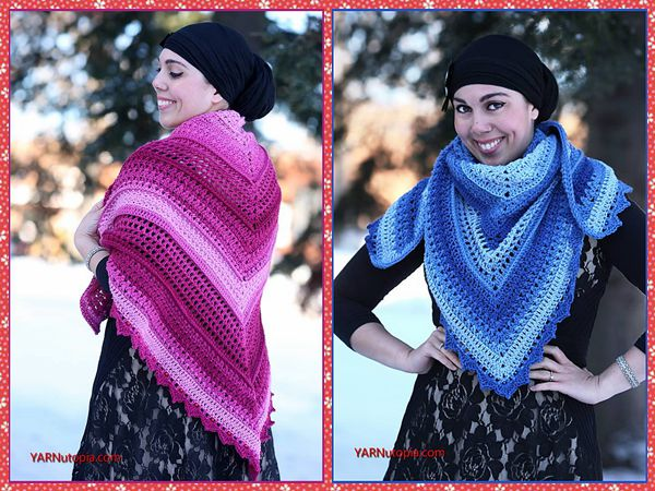 Wrapped in Jewels Shawl