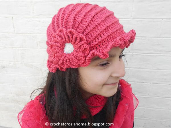 Easy Crochet Hat Design