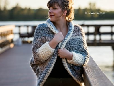 Crochet Cuddler Cocoon Sweater