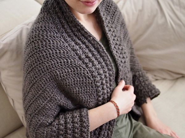 Heartland Cocoon Shrug
