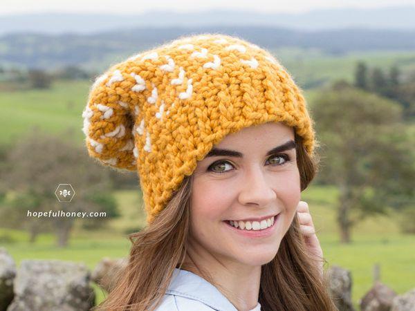 Fair Isle Biscotti Hat