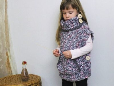 LYANA Crochet Poncho Pattern