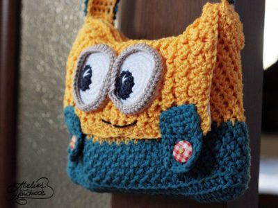 Yellow and Blue Purse