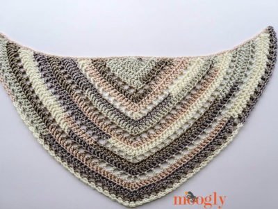 Brown Butter Shawl