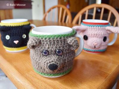 Animal Mug Cosies