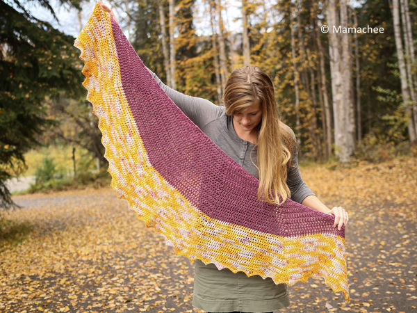 The Fall Shawl