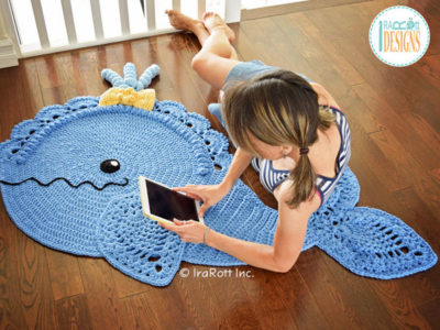 Joyce and Justin Whale Rug
