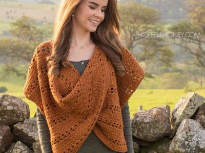 Cinnamon Roll Pullover Sweater