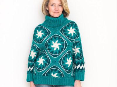 Mascot Crochet Sweater