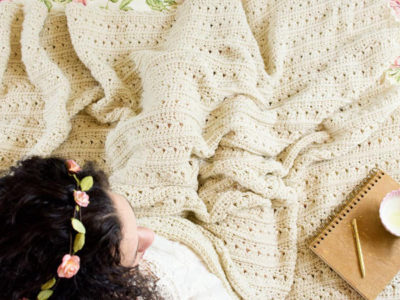 Primrose and Proper Crochet Blanket