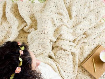 Primrose and Proper Crochet Blanket