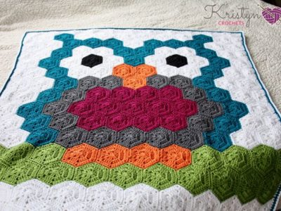 Night Owl Crochet Blanket