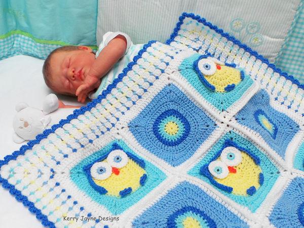 Kerry's Owl Blanket