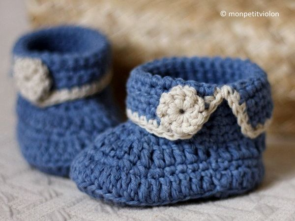Short Cuff Baby Boots