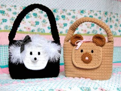 Animal Flap Purses