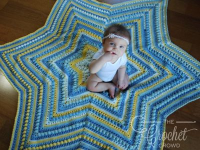 Hugs & Kisses Starshine Afghan