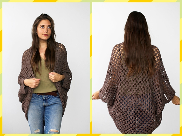 Movie Night Cocoon Cardi