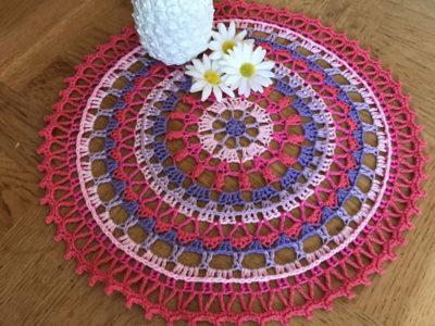 Happy Mandala Doily
