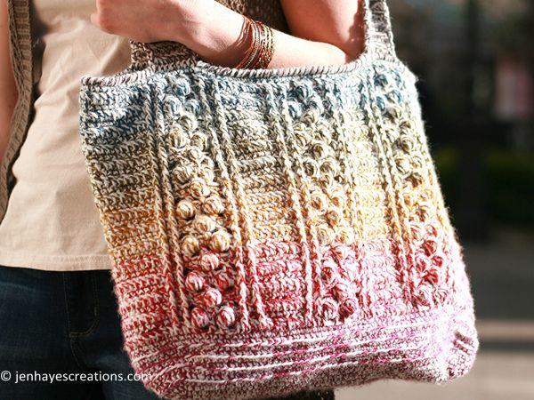 Braided Bobble Bag