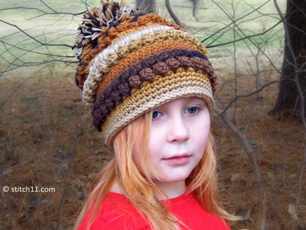 Rustic Love Slouch Crochet Pattern