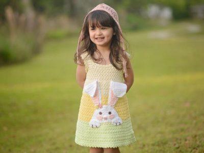 Crochet Bunny Dress Pattern