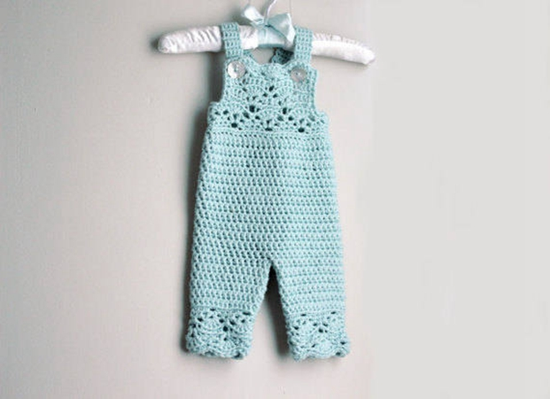 Crochet Baby Overalls Pattern Share A Pattern