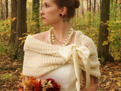 Easy Wedding Shawl