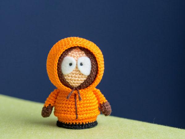 Crochet Kenny McCormick Pattern