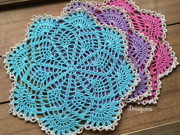 Spring Song Doily
