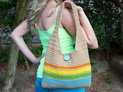 Easy Crochet Tote Bag