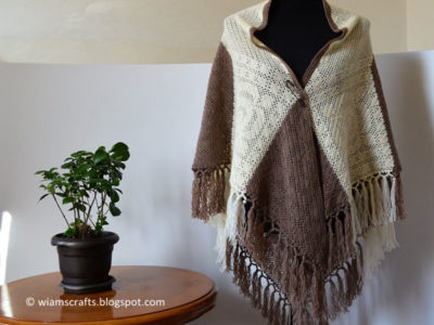 Rose Relief Shawl