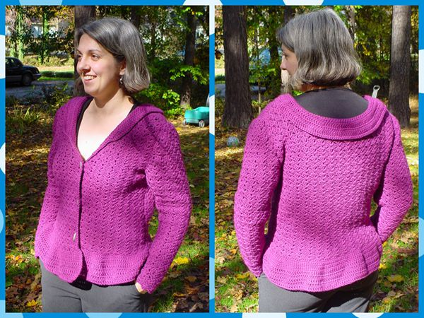 Purple Haze Cardigan