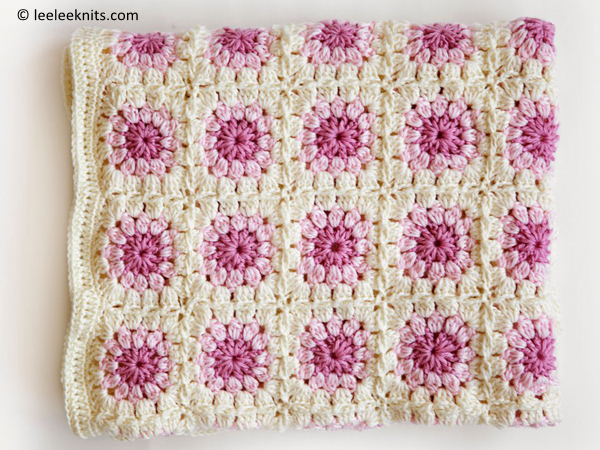 Bloom Afghan Throw Blanket