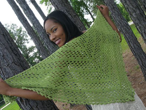 Dixie Charm - A Summer Shawl