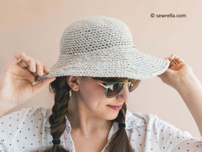 Crochet June Sun Hat