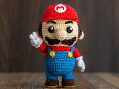 Crochet Pattern of Mario