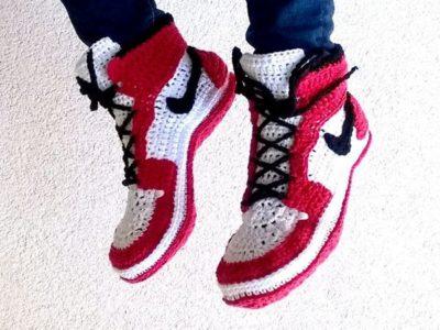 Air Jordans style slippers