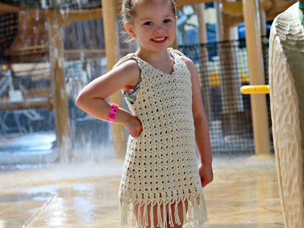 Crochet Bathing Suit Cover Up