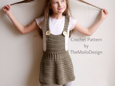 Crochet Skirt for Girl