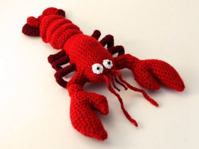 Crochet Lobster Amigurumi Pattern