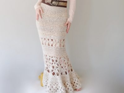 Crochet Long Skirt