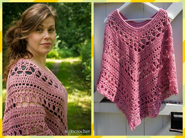 Lacy Day Poncho