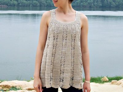 Elegant Lace Tank Top